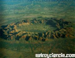 El cráter de Gosse Bluff, en el interior de Australia