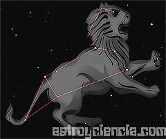 Figura de la constelación de Leo