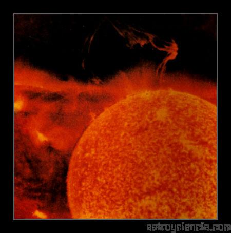 Protuberancia solar