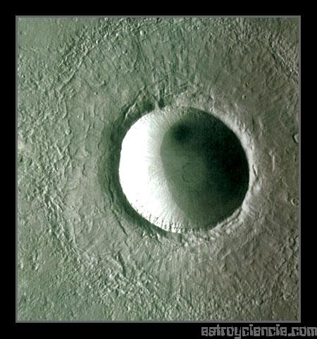 Cráter de Marte