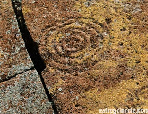 Círculos en la piedra