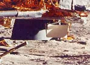 Falta de cráter en el suelo