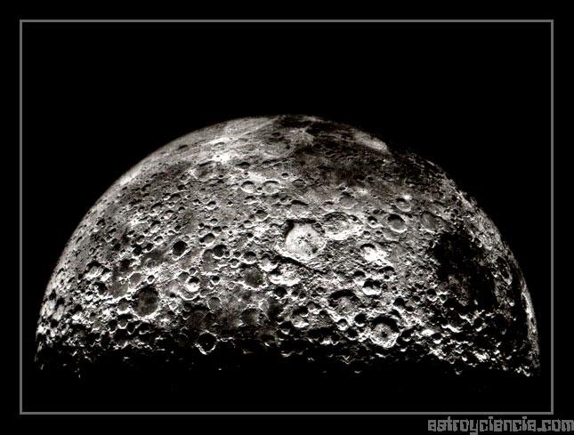 Hemisferio sur de la Luna