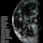 Observación de la Luna en cuarto menguante