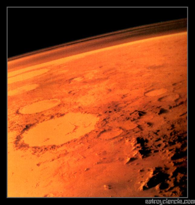 Cuenca Argyre de Marte