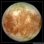 Europa, luna de Júpiter (imagen)