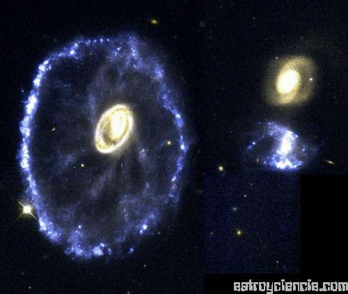 Galaxia de la rueda de carro
