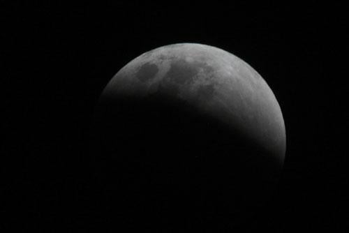 Fotografía de Juan Guzman del eclipse de Luna 4/6