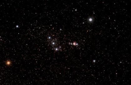 Fotografía de la Constelación de Orión