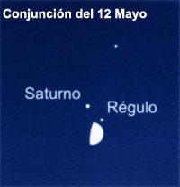 Conjunción del 12 Mayo