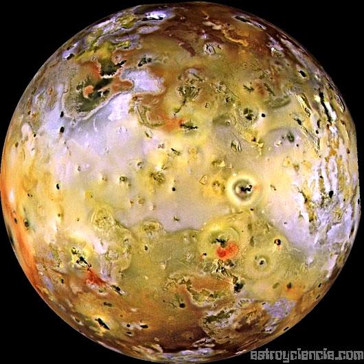 Imagen de Ío, Luna de Júpiter