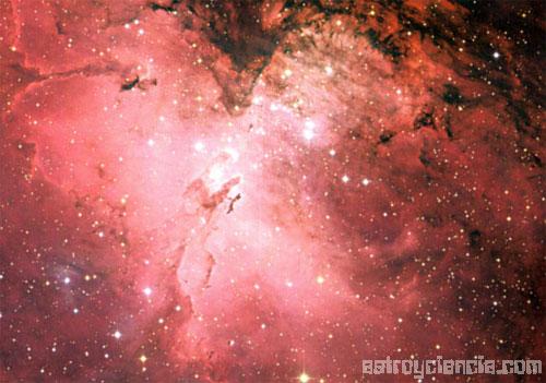 Nebulosa del Águila M16
