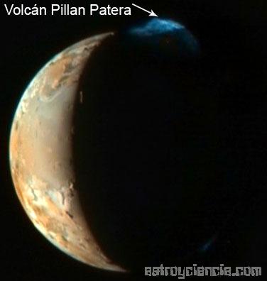 Volcán Pillan Patera en Ío