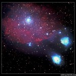 Nebulosidad en Sagitario