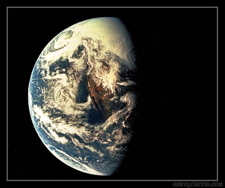 La Tierra desde el Apolo XIII