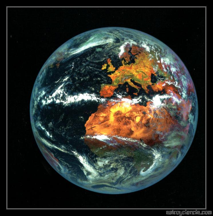 La Tierra: Europa y África