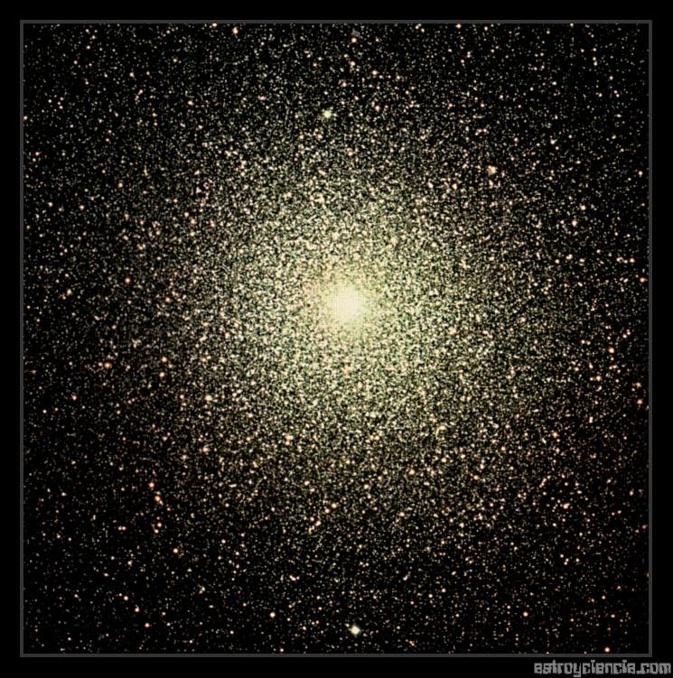 Agrupación globular 47 Tucanae (NGC 104)