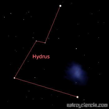 Constelación de Hydrus