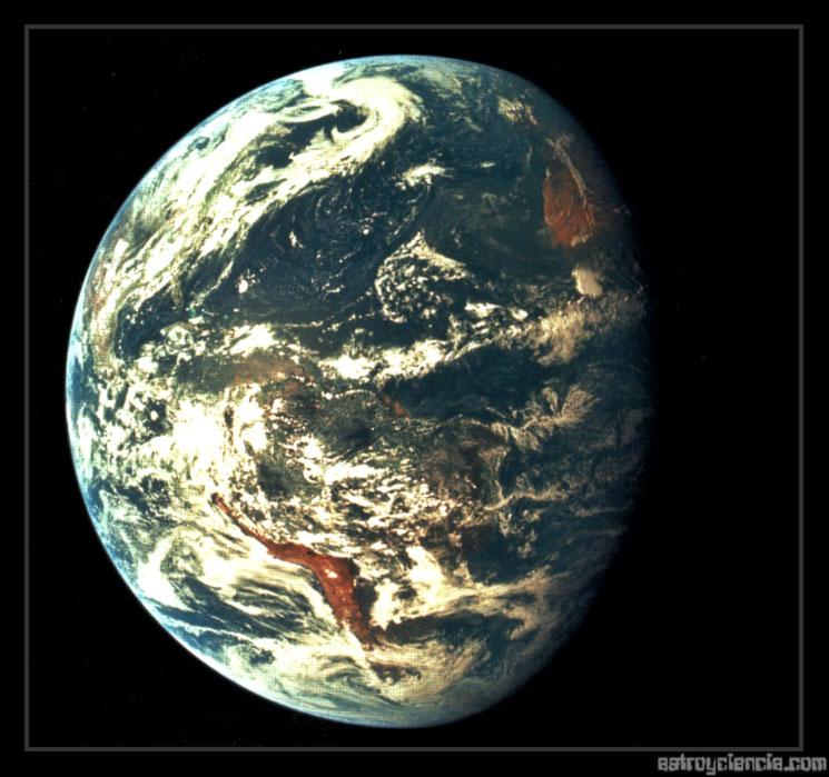 Sudamérica desde el Apolo XV