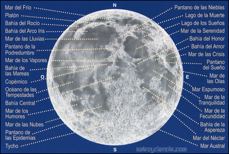 Image result for mapa lunar