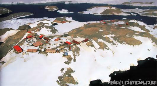 centro de investigación de la Antártida