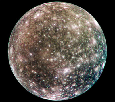 Calisto: Luna de Júpiter