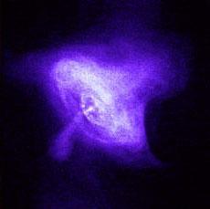 Imagen de un pulsar
