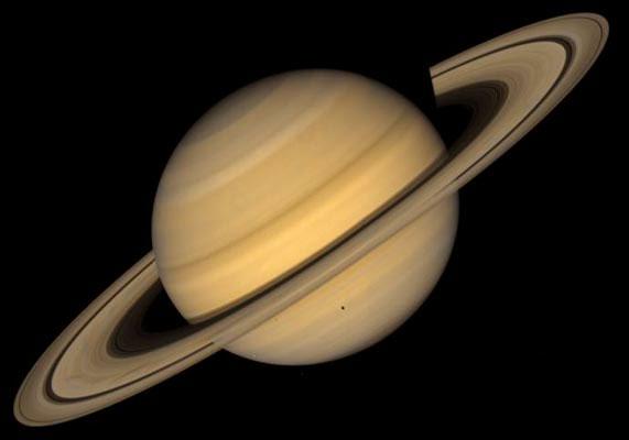 Vista Planeta Saturno