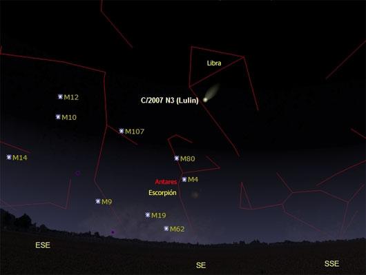 Cometa C/2007 N3 (Lulin)