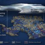 El lago Vostok de la Antártida