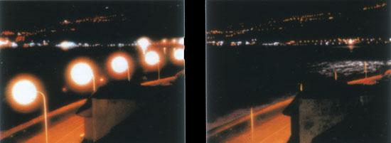 Diferencia de la contaminación lumínica