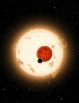 Descubierto el primer planeta con dos soles
