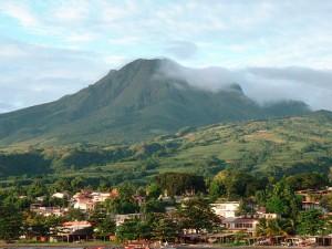 Volcán modelo Peleano