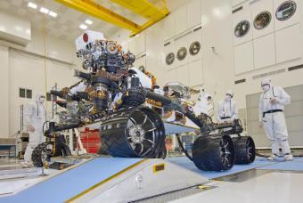 Curiosity viaja a Marte