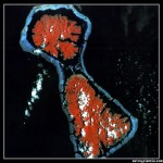 Imágenes de la Tierra 3: Arrecife coralino de las islas del Pacífico