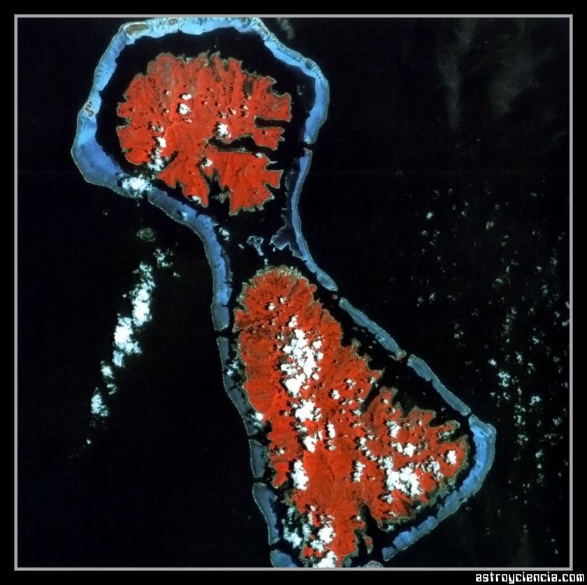 Arrecife Coralino de las islas del Pacífico