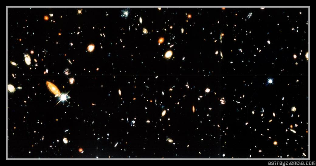 Cielo profundo del Hubble