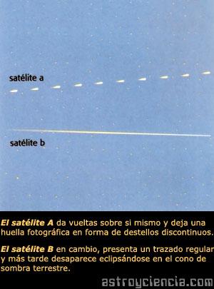 ¿Cómo observar los satélites artificiales?