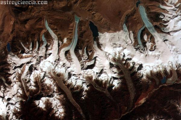 El retroceso de los glaciares