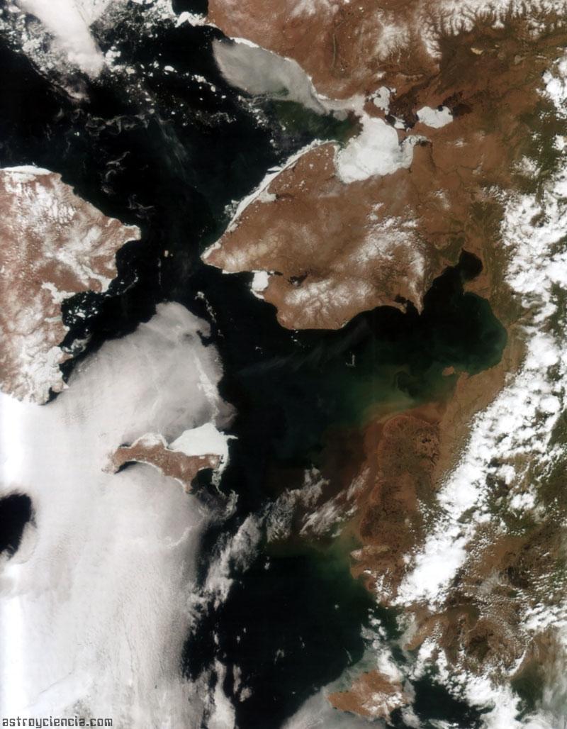 Alaska y Siberia; separadas por 80 km