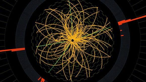 Coche de partículas LHC
