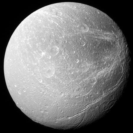 Dione: Luna de Saturno