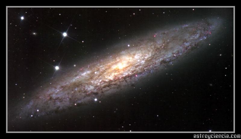 Galaxia del Escultor (NGC 253)