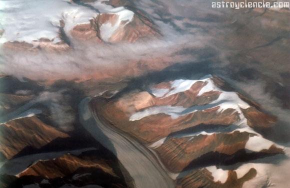 Glaciar de la isla de Ellesmen