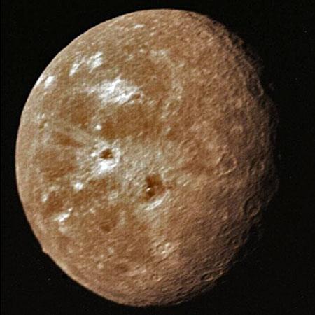 Oberón: Luna de Urano