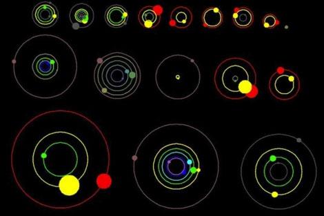 26 Planetas orbitando en torno a 11 estrellas