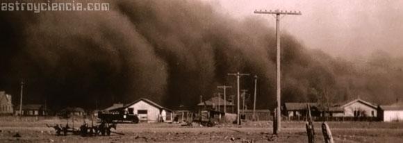 Tormenta de arena en Springfield en 1935