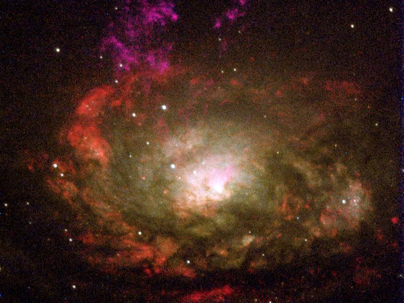 Galaxia Circinus o El Compás