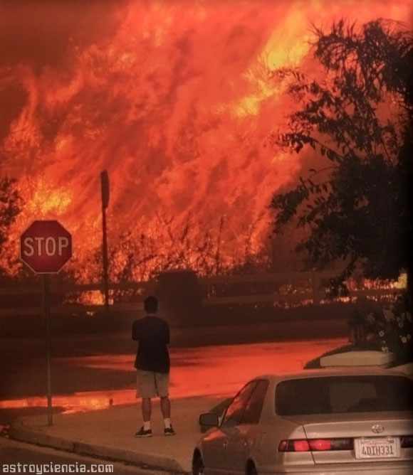 Incendio Simi Valley