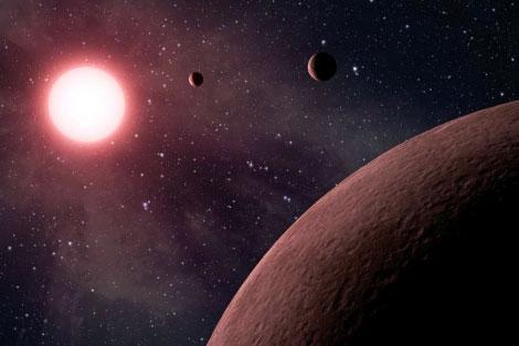 Descubren el Sistema Solar más pequeño
